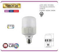 Лампа HOROZ ELECTRIC TORCH-20 SMD LED 20W 6400K Е27 1650Lm 175-250V