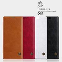 Кожаный чехол Nillkin Qin для Samsung Galaxy Note 8 (4 цвета)