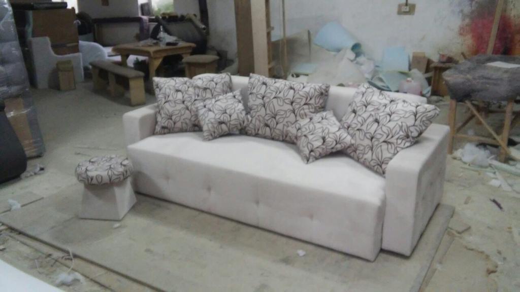 Реставрація дивана зі зміною дизайну. -1