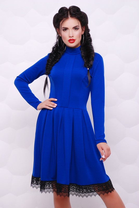 Платье Трикси электрик