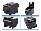 Чековий принтер 58мм AW-5810 - UE з автообрезкой USB + LAN інтерфейс, фото 6