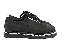 Женские туфли на шнурках на плоской подошве Fabio Monelli