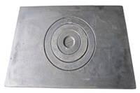 Плита чугунная 1-х конфорочная