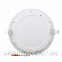 Світильник точковий Евросвет LED-R-225-18 18W 6400К вбудований, фото 2