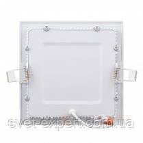 Світильник точковий Евросвет LED-S-170-12 12W 6400К вбудований, фото 2