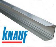 UD 27/28/0.6 KNAUF L=4м (0,6мм) профиль для гипсокартона направляющий потолочный, стеновой
