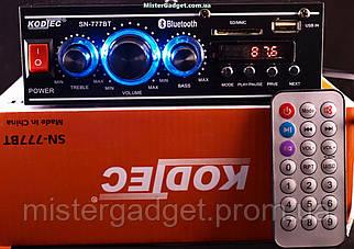 Усилитель Kodtec SN-777BT FM+SD card+USB+Bluetooth 2*60W