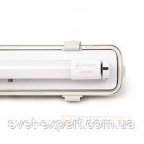 Светильник промышленный / пылевлагозащищенный ЛПП с LED лампами  9W IP65 1*600мм 6400K , фото 3