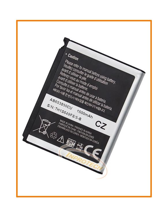 Аккумулятор Samsung I900 (AB-653850CE) 1500 mAh Original