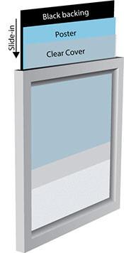 Клик-рамка для постеров Snap Frame 15mm
