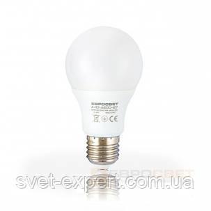 Светодиодная Led лампа Евросвет A-10-3000-27 10W 3000K E27 220V   800 Лм, фото 2