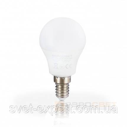 Светодиодная лампа Евросвет Р-5-3000-14 5W 3000K E14 220V , фото 2