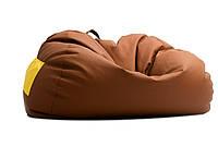 """Бескаркасный диван """"Puzon"""" св коричн, диван мешок,диван бескаркасный,диван,мягкая мебель."""