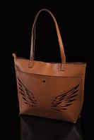 """Вместительная женская сумка """"Крылья"""""""