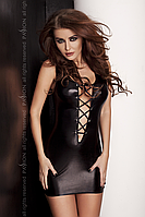 Мини-платье из латекса со шнуровкой Lizzy TM Passion (Польша)