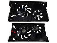 Вентилятор осн радиатора 2секц комплект D390 9 лопастей 2 пина /D280 7лоп 2пин Renault Master II 1998-2010