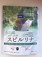 DHC Спирулина + Протеин, Очищение и оздоровление организма (курс на 30 дней) 270 капсул