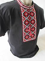Красиві чоловічі вишиванки чорного кольору., фото 1