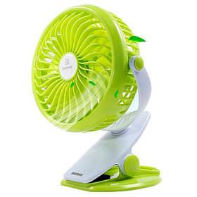 Вентилятор Remax Portable USB Mini Fan 360° (F2) Green