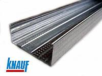 CD 60/27/0.6 KNAUF L=4м (0,6мм) профиль для гипсокартона стеновой, потолочный