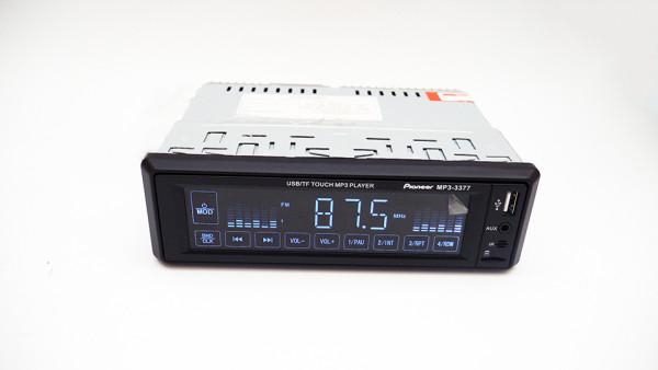 Сенсорная магнитола автомагнитола 3377 5+MP3+FM+USB+SD+AUX - Интернет магазин Balos в Днепре