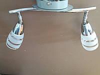Люстра СПОТ потолочная на два 2 плафона 160282
