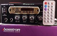 Усилитель Bosstron ABS-805U FM+SD card+USB Два входа для микрофона