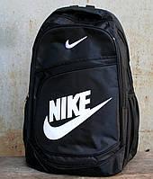 Рюкзак спортивный в стиле Nike черного цвета