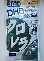Хлорелла + Витамин Е. Общеукрепляющий, антисептический и противовирусный препарат. Курс на 30 дн. DHC, Япония, фото 1