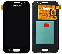 Дисплей (экран) для телефона Samsung Galaxy J1 Ace Duos J110H, Dual Sim, J110G, J110L, J110M + Touchscreen Black