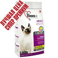 1st Choice (Фест Чойс) ФИНИКИ сухой супер премиум корм для привередливых и активных котов, 2,72 кг