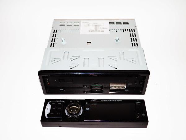 Автомагнитола магнитола с DVD приводом Pioneer 102 USB+SD съемная панель