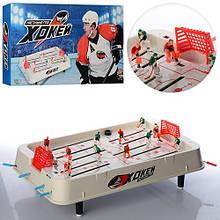 Хоккей настольный на штангах на ножках 51x28x15см