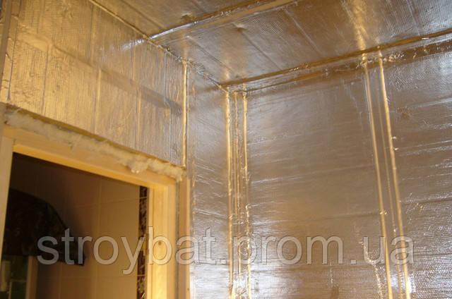 Для стен используется что шумоизоляции