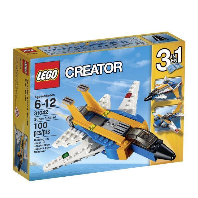 Lego Creator Реактивный самолёт / Super Soarer 31042