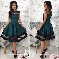 Женское стильное платье,платье в школу,офис  новинка