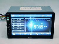 2DIN Магнитола автомагнитола Pioneer 8701 7+USB+SD+Bluetoth+Видео вход