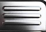 Накладная мойка Platinum 6050 R Decor 0,7 мм правосторонняя. Декорированная., фото 2
