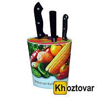 Универсальная подставка для ножей Universal Knifes Holder | 18x11 см