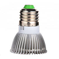 Фитолампа фито лампа для растений на цоколь E27, 18 LED синий+красный, 18Вт