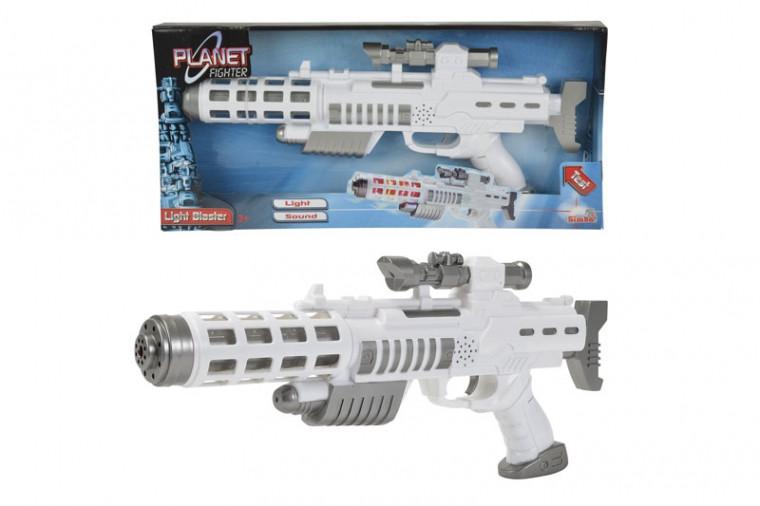 Световой бластер-винтовка со звуковыми эффектами Simba Toys 804 6945