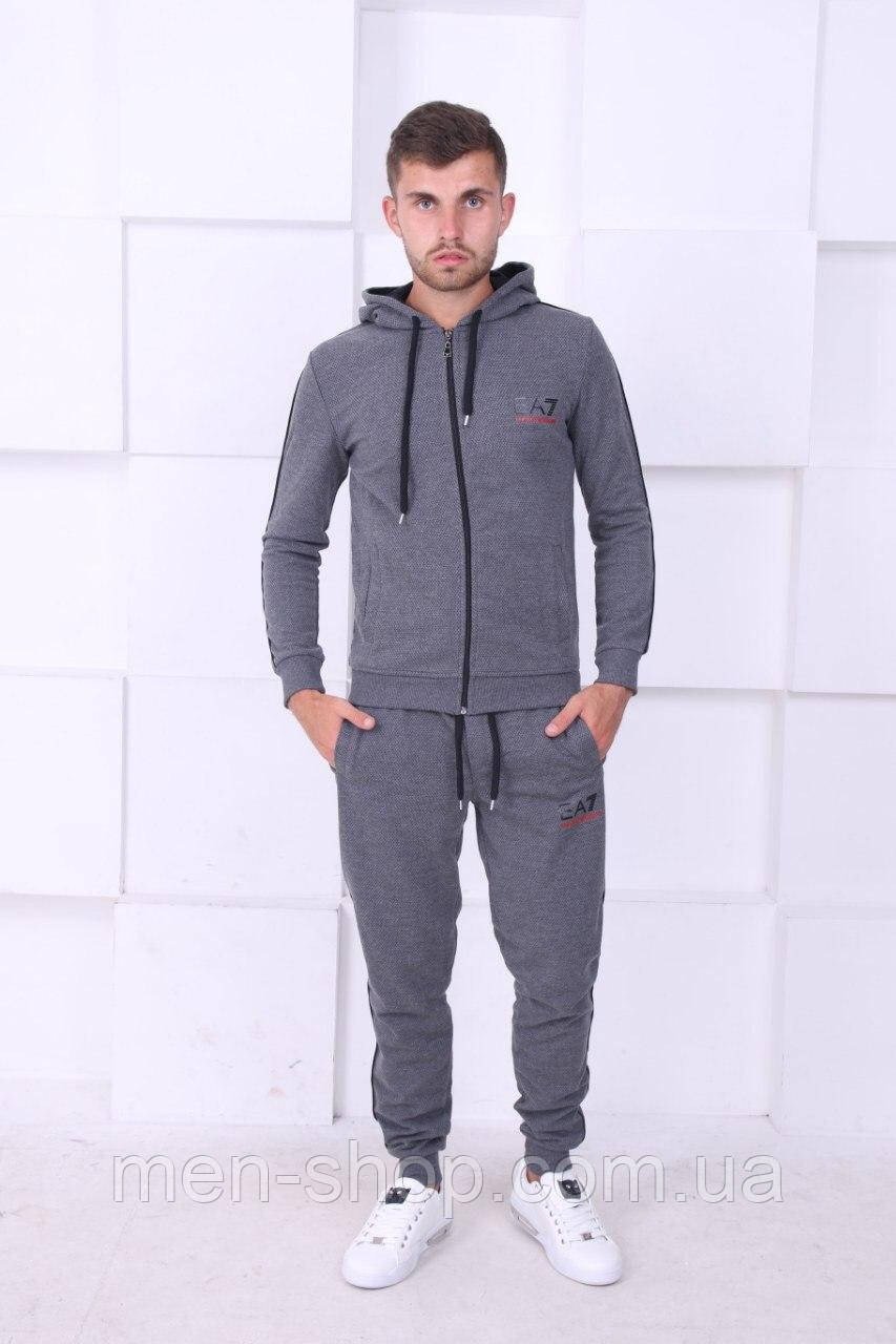 Спортивный мужской костюм в стиле Armani
