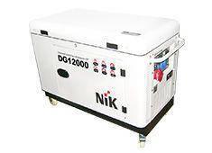 Генератор дизельний NIK DG12000 3 ф (11,2 кВт), фото 2