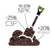 Деструктор Стерни Соломы для всех культур.  Разложение остатков, улучшение качества почвы.
