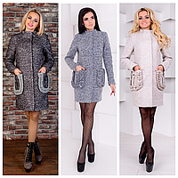 Модное женское пальто осень-весна