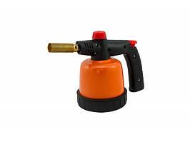 8160101 Лампа паяльная газовая 190 г/360 мл  с пьезоподжигом