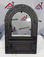 Дверка для печи двойная  (48,5 х 32,5 см/ 10 х 25 см)