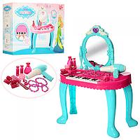 Детское трюмо с пианино для девочки ,звук,свет