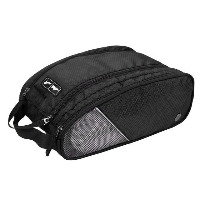 Черная сумка-органайзер для обуви
