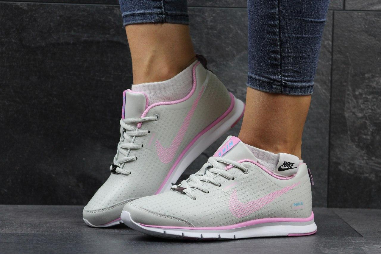 Женские кроссовки Nike Zigmaze,бежевые с розовым 36р